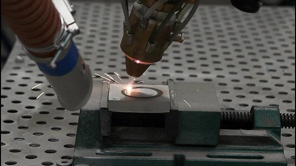 Laserauftragschweisen AL Rock ll