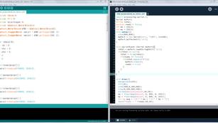 Processing & Arduino communication