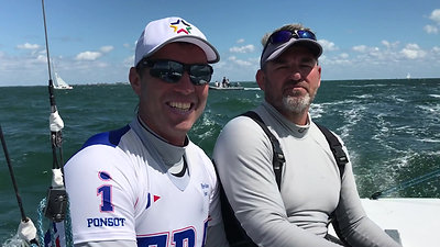Rohart & Ponsot - Race Winners Day 2 2019 Bacardi Cup Miami