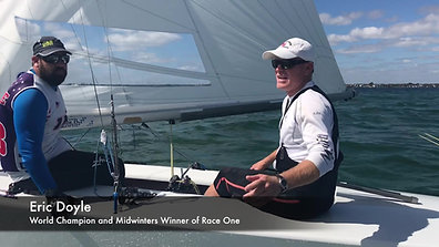 Eric Doyle and Payson Infelise Win Race One of the 2019 Star Midwinters in Miami