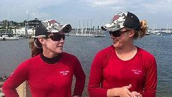 Day 3 Report with Winners of Race 8, Bridget Wiatrowski and Jessica Claflin