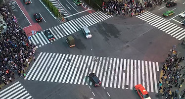 Shibuya Crossing Timelapse