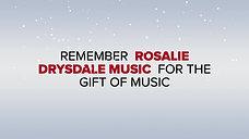 Rosalie Drysdale Music Christmas