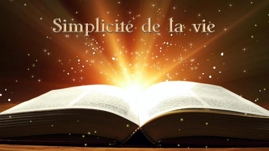 Simplicité de la vie