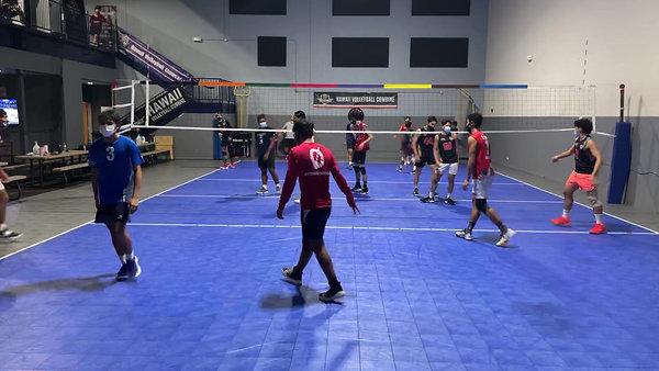 2021 Boys Red Training Team