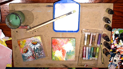 A Mixed Media Workshop with Tricia Preston (Episode 1: Playing in the Sun)