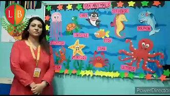 Sea Animals. Preschoolers. Rhyme On Sea Animals. Under the Sea. Nursery Rhymes