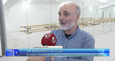Telediario - Un escenario de lujo- El instituto del Teatro Colón de Bs As llega al Teatro Tronador