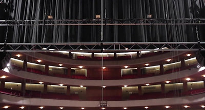 Teatro Coliseo, new flying system