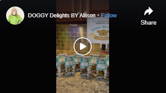 DOGGY Delights BY Allison on Facebook Watch