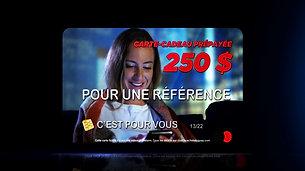 Carte-cadeau de 250$ offert pour une référence - Courtier immobilier à Châteauguay - Gilles Carignan
