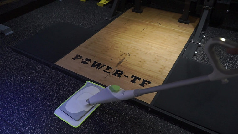 POGO AT THE GYM