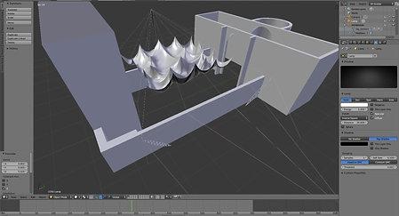 Bad hersfeld Light Membrane folding Simulation
