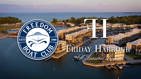 Freedom Boat Club on Friday Harbour Resort