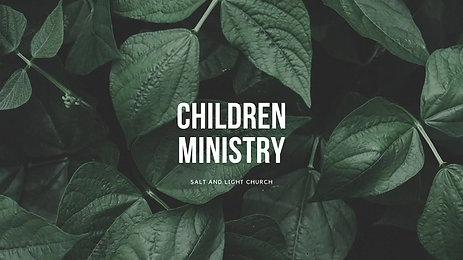 06/14/2020 Children Sunday Service