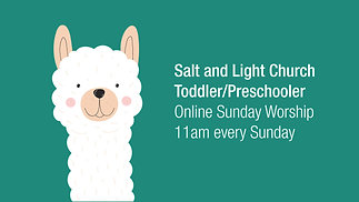 06/21/2020 Toddler Sunday Service