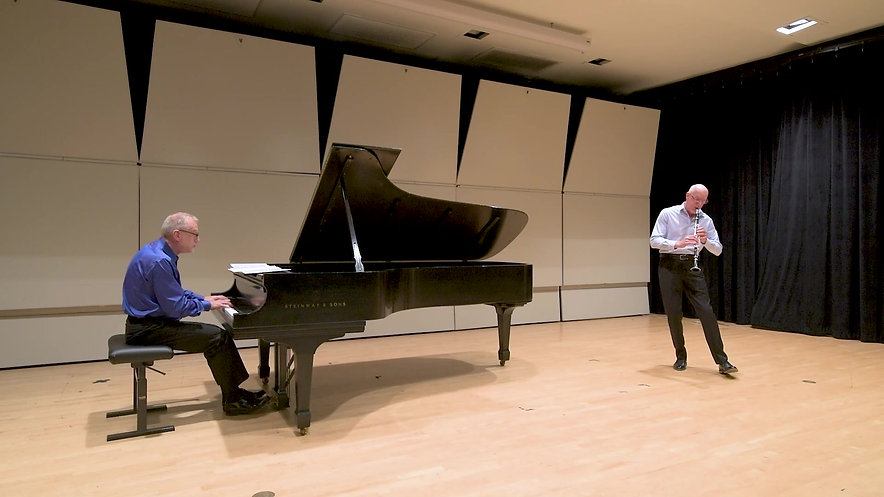 Debussy Premiere Rhapsodie  LIVE PERFORMANCE WITHOUT AUDIENCE AT DUQUESNE UNIVERSITY, August 11, 2020