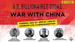 U.S. Billionaires Stoke War With China