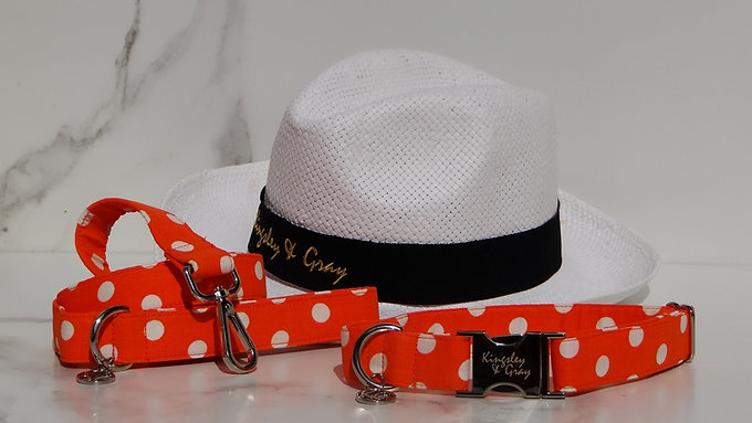 Orange Polka Collection