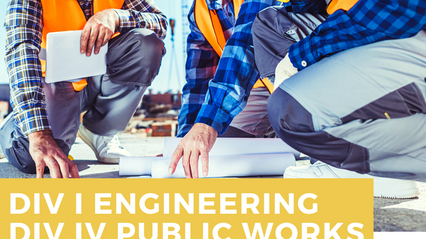DIV I Engineering & DIV IV Public Works Prep Course