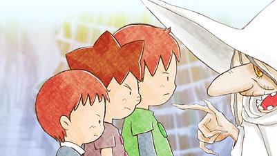 白い魔女と3兄弟