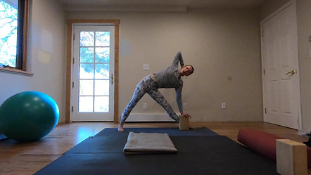 Slow Yoga with Deep Breathing and Neck Alignment Cues