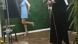 Selah Model Caitlin BTS Moira Studio
