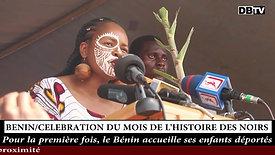 Cérémonie d'ouverture officielle du Mois de l'Histoire des Noirs Afrique, au Bénin