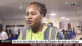 Soirée finale du Mois de l'Histoire des Noirs Afrique