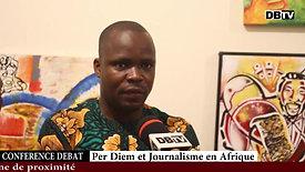 Per diem et Journalisme en Afrique, pour quel type d'information ?