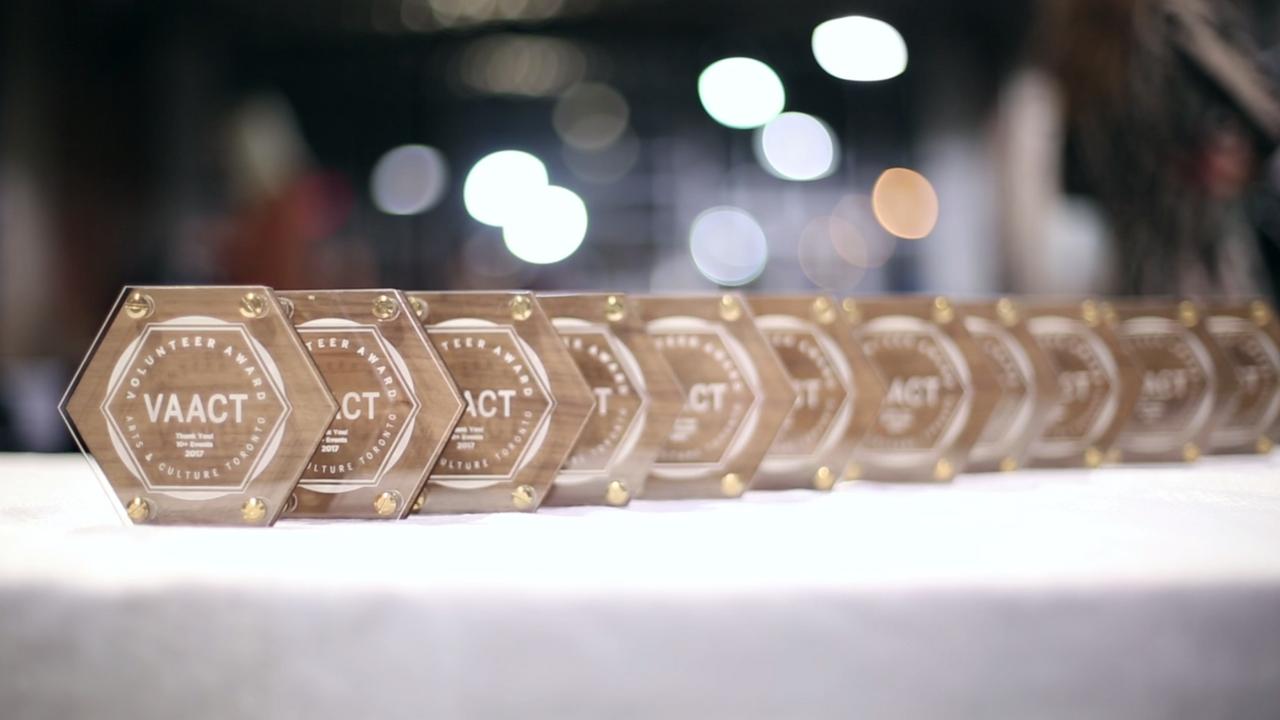 Volunteer Award for Arts & Culture in Toronto