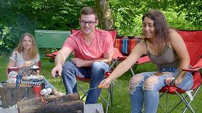Velvet Ice Cream | Campfire S'mores