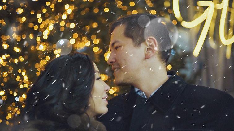 LINGE DE LIT   новогодний рекламный ролик