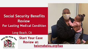 Social Security Benefits - Lasting Medical Condition