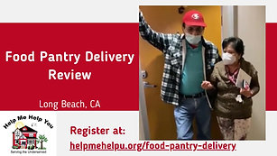 Food Pantry Delivery Review