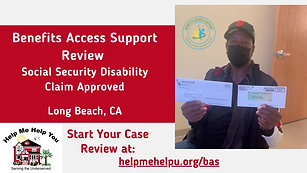 Social Security Disability Benefits Approvded
