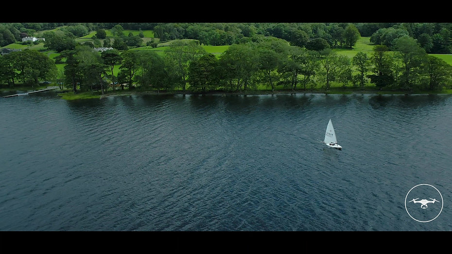 Coniston Water drone showreel