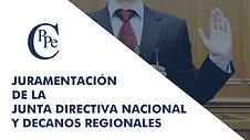 JURAMENTACIÓN DE LA JUNTA DIRECTIVA CPPE