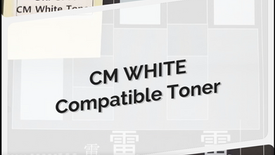 CM White Compatible Toner for Remanufacturing