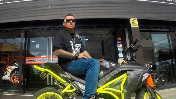 Warrior de Rapper School en Biker House