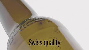 Swiss Craft Beer Bottle