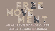 S1 | EP 10: Free Movement Dance Class.  30 minutes.  All Levels.
