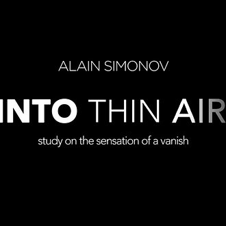 Image result for Into Thin Air By Alain Simonov
