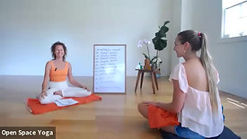 Surya Namaskar Sadhana 1hr lecture/practice with Mary Bastien At Open Space Yoga Hawaii