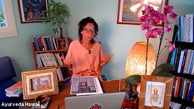 INTRO TO AYURVEDA Day One with Mary Bastien