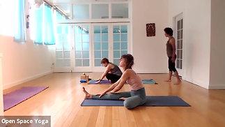 Ashtanga Yoga 75min with Gail StDenis at Open Space Yoga Hawaii