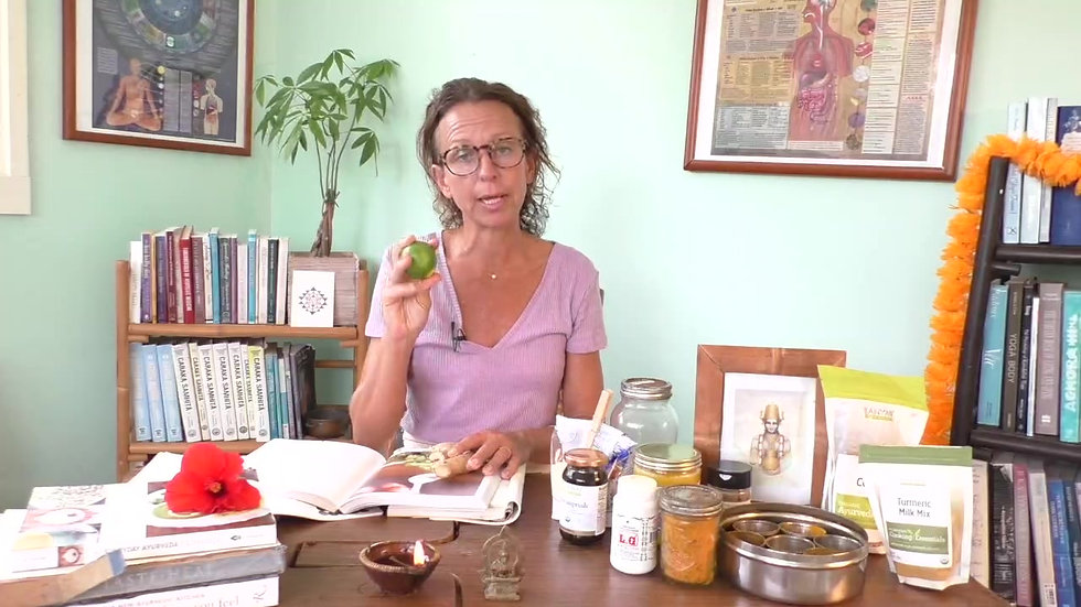 Ayurveda kitchen- Where to start with mary bastien