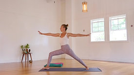 Hatha Yoga Shoulder stand with Mary Bastien