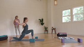 75min Yoga Gentle flow with Maiara Brandimarti