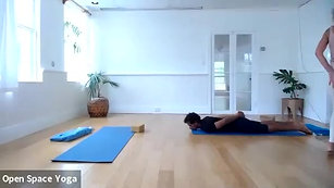 Yoga Backbends 60min with Mary Bastien at Open Space Yoga Hawaii